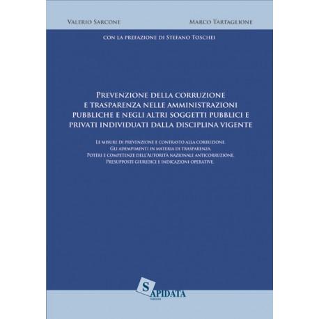 Prevenzione della corruzione e trasparenza nelle amministrazioni pubbliche